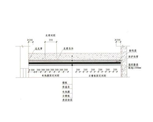 六维电热墙膜、棚膜供暖系统